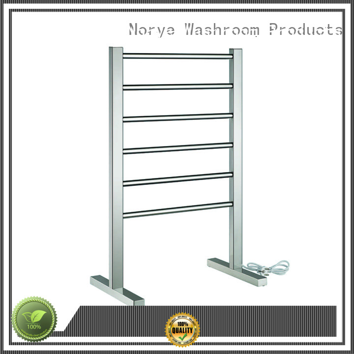chrome curved towel heater series for clothes