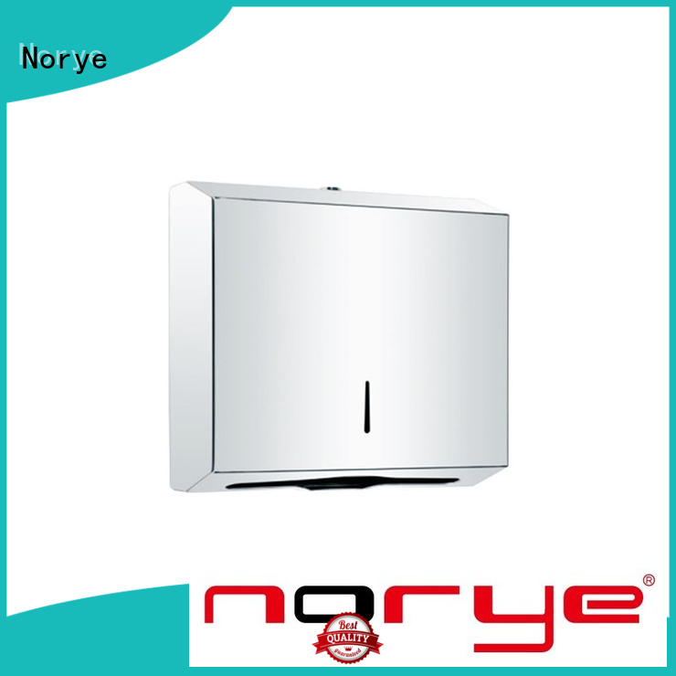 Norye stainless steel roll towel dispenser with good price for hotel