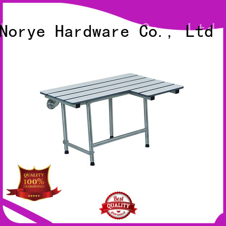 Norye foldable folding shower seat design for bathroom