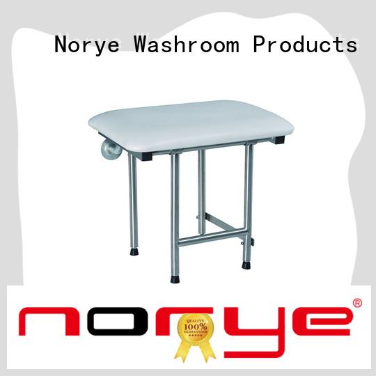 Norye handicap bathtub seat with cushion pad for washrooms