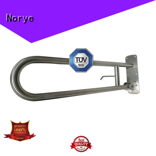 Norye bathroom grab bars for elderly with soap dish for bathroom
