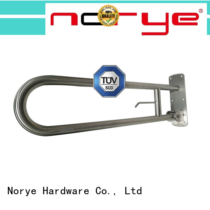 brushed stainless steel bath grab bar series for hotel