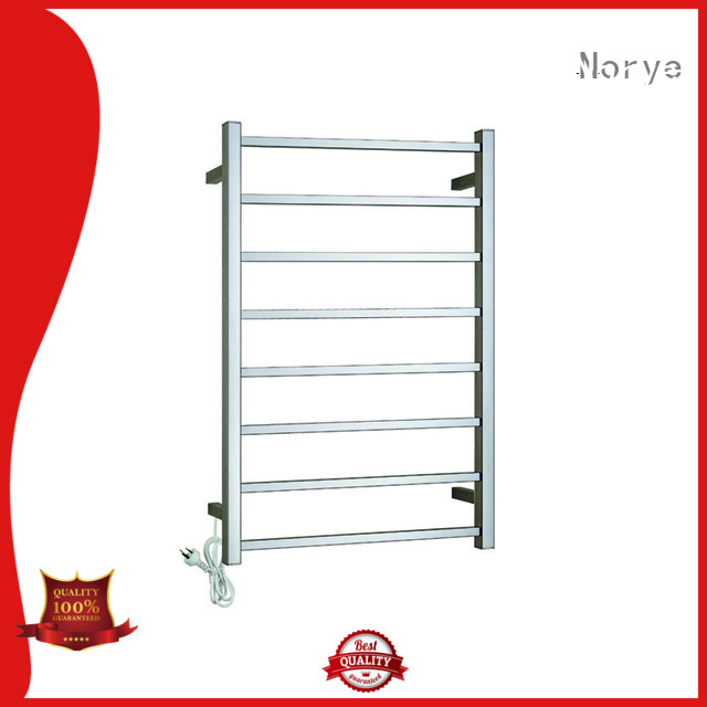 multi bars electric heated towel rack wholesale for home use