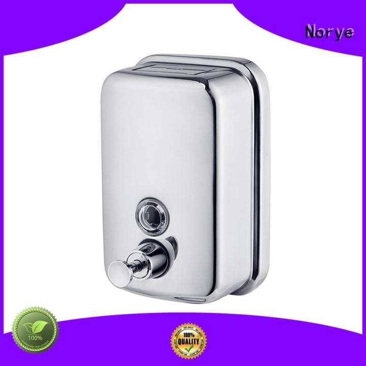 Norye stainless liquid soap dispenser