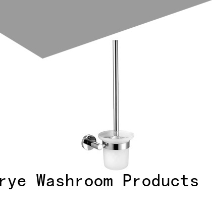 with square base towel ring holder chrome polished for bathroom Norye