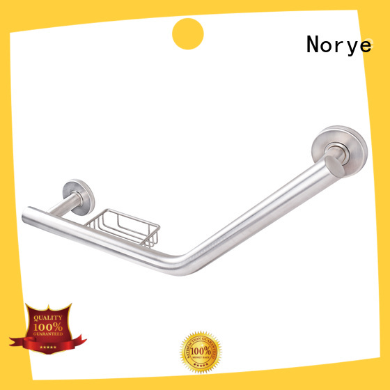 Norye pproved grab bar white coated for hotel