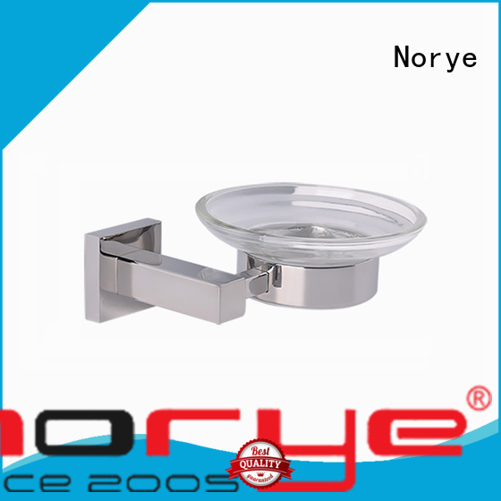 wall mounted towel ring glass for washroom Norye