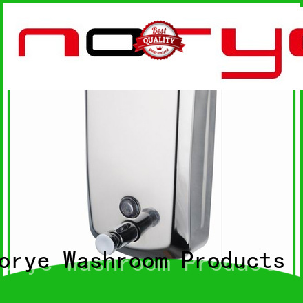 Norye professional stainless steel soap dispenser wall mounted best manufacturer for bathroom