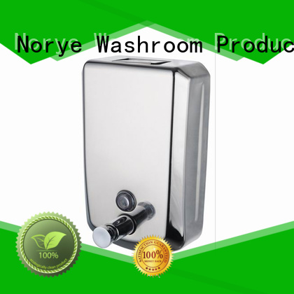 Norye durable wall mounted hand soap dispenser custom for washroom