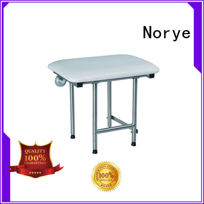 Norye pu folding bathroom seat design for disabled people