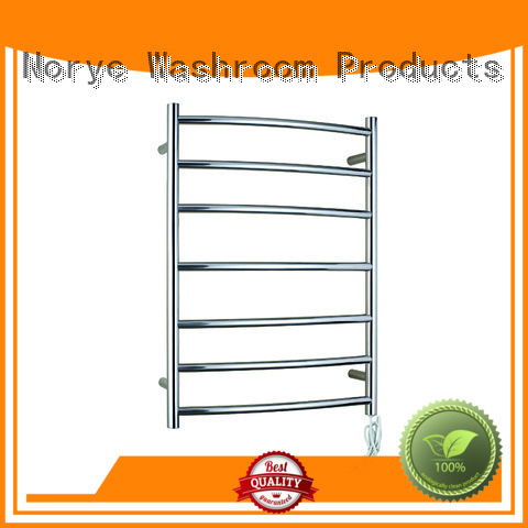 bright polished electric towel rail wholesale for bathroom Norye