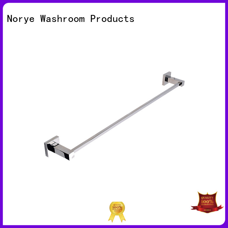 chrome polished wall mounted towel ring manufacturer for hotel Norye