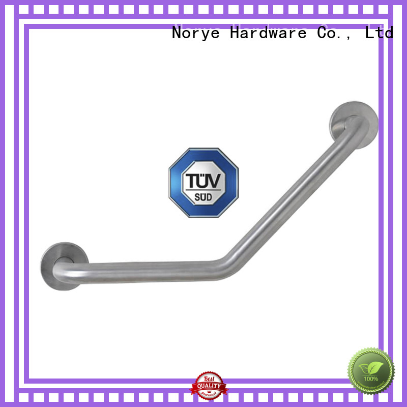 Norye polished surface best grab bars for seniors white coated for hotel