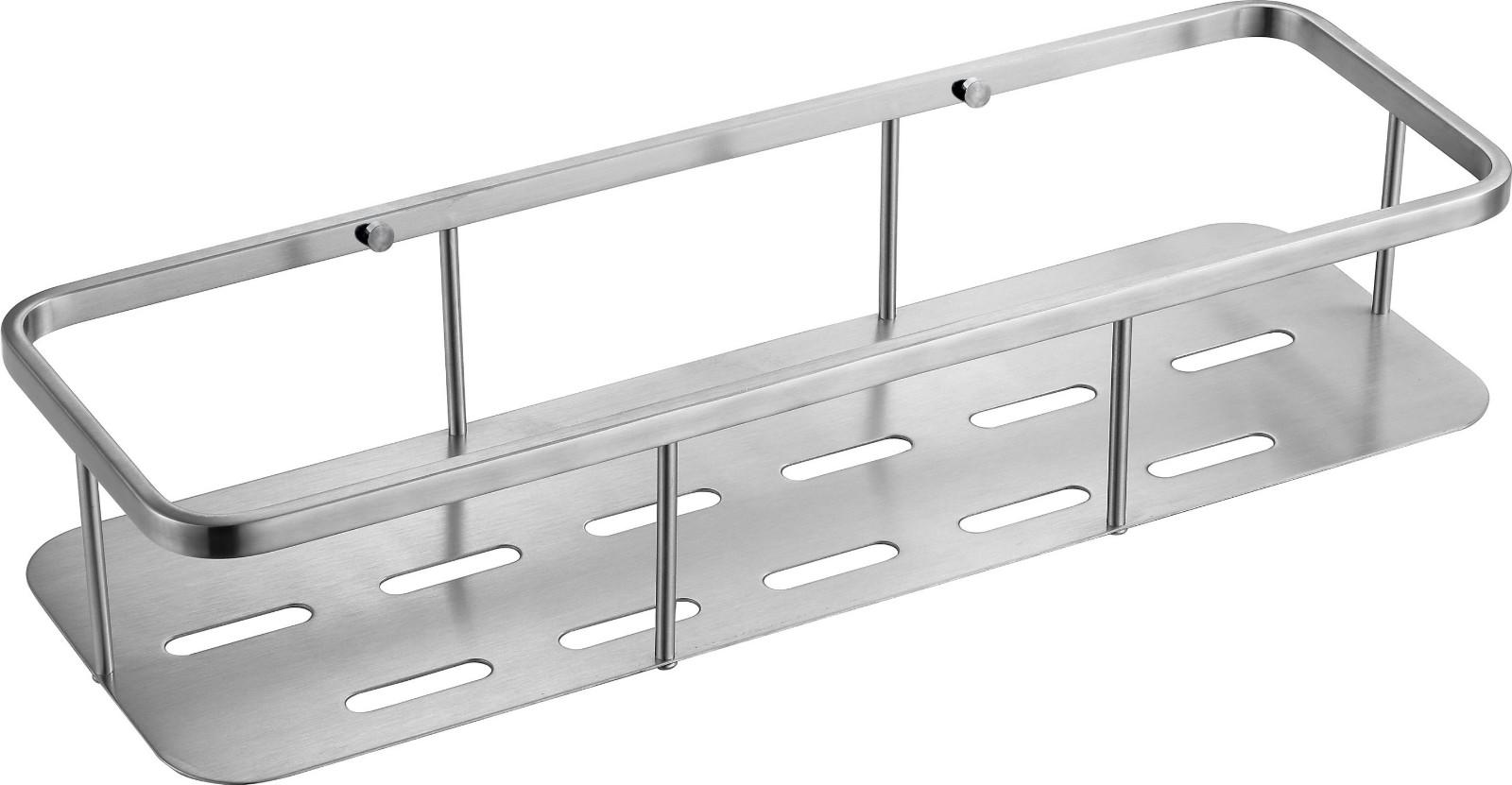 JC05 Stainless Steel Bathroom Accessories Shower Shampoo Basket-1