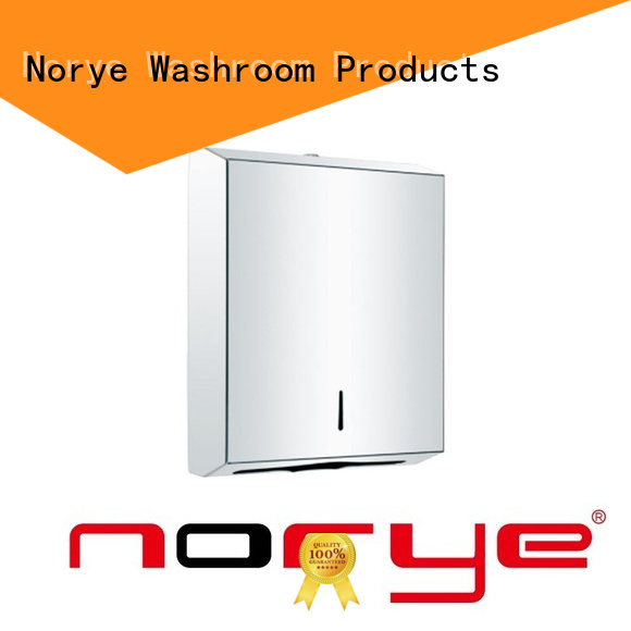 Norye wall paper towel dispenser directly sale for hotel
