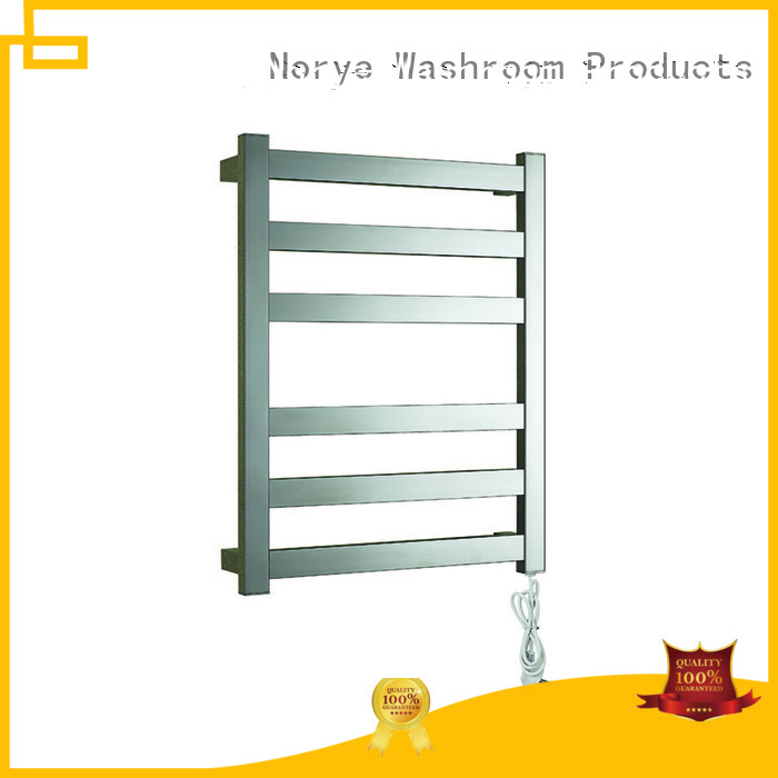 Norye freestanding electric towel drying rack plug-in for bathroom