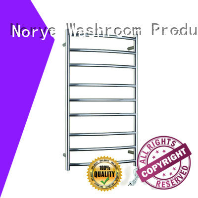 Norye OEM heated towel bar customized for clothes