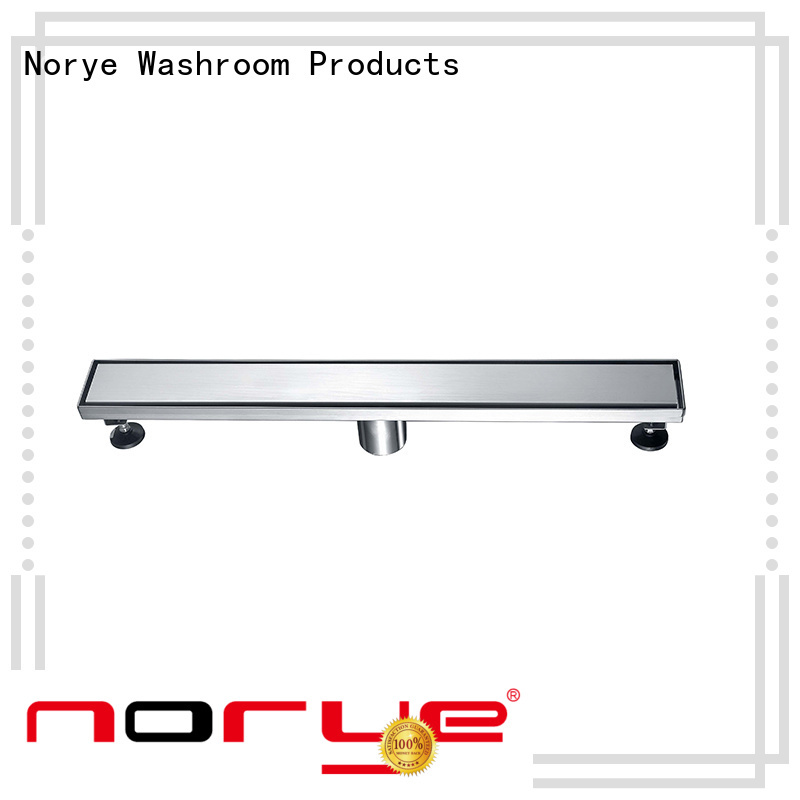 Norye foldable stainless steel drain design for bathroom