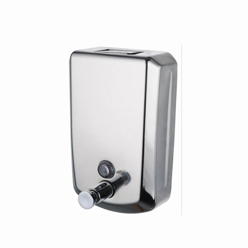 Norye professional stainless steel soap dispenser wall mounted best manufacturer for bathroom-2