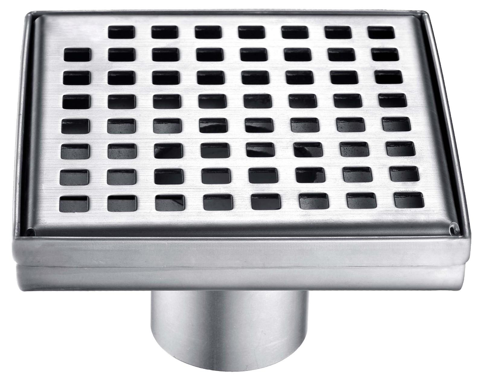 Norye fold-down bathroom floor drain customized for bathroom-1