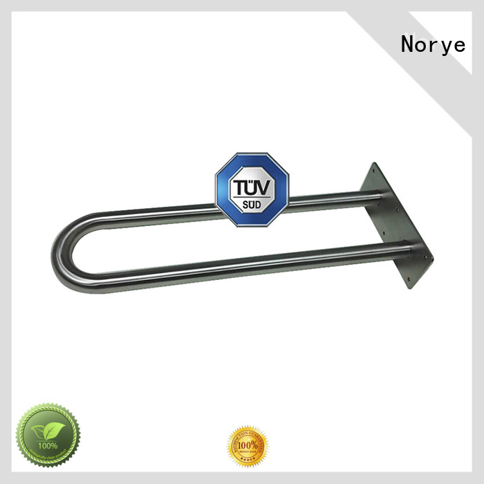Norye OEM shower grab rails stainless steel manufacturer for home use