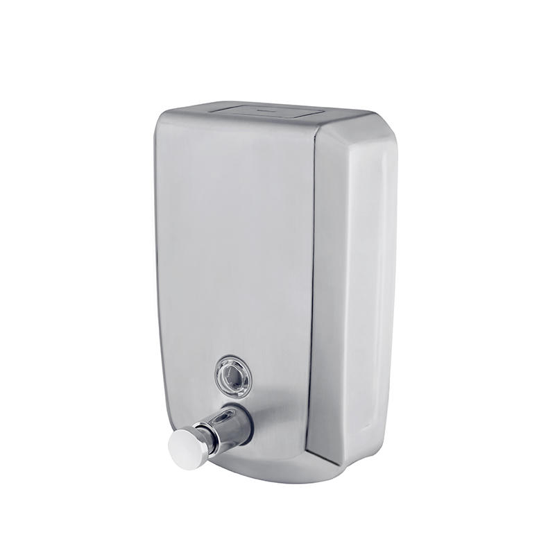 Norye professional stainless steel soap dispenser wall mounted best manufacturer for bathroom-1