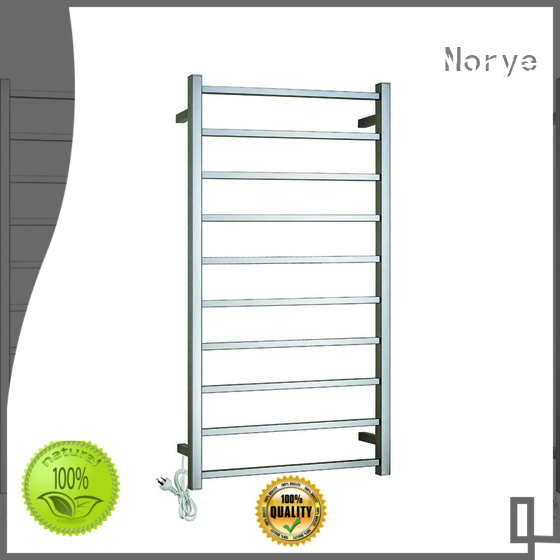 Norye classic electric heated towel rack series for home