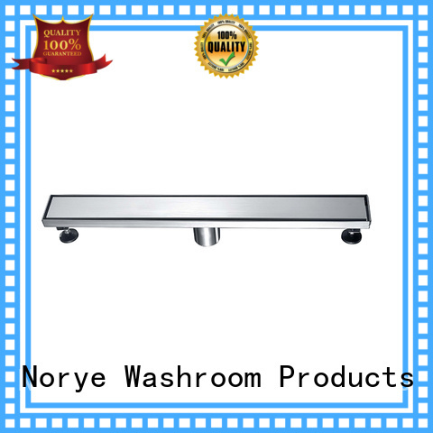 Norye convenient shower drain with cushion pad for residential
